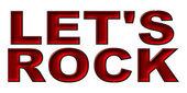 Let's Rock — ストック写真