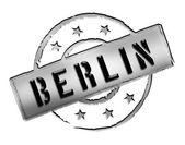Stamp - BERLIN — Stock Photo