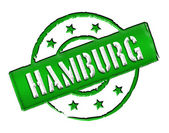 Stamp - HAMBURG — 图库照片