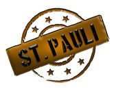 Stamp - St. Pauli — Stock Photo