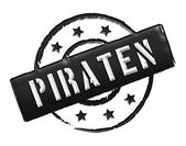 Stamp - Piraten — Stock Photo