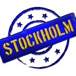 Stamp - Stockholm — Stock Photo