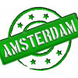 Stamp - Amsterdam — Stock Photo