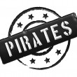 Stamp - Pirates — Stock Photo #10374076