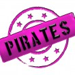 Stamp - Pirates — Stock Photo #10374088