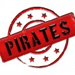 Stamp - Pirates — Stock Photo #10374104