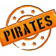 Royalty-Free Stock Photo: Stamp - Pirates