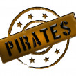 Stamp - Pirates — Stock Photo #10374140