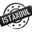Stamp - Istanbul - Stock Photo