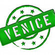 Stamp - Venice — Stock Photo
