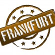 Stock Photo: Stamp - Frankfurt