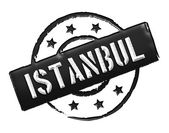 Stamp - Istanbul — Stock Photo
