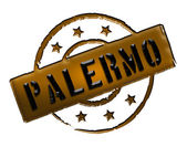 Stamp - Palermo — Stock Photo