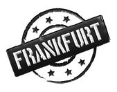 Stamp - Frankfurt — Stock Photo