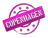 邮票-哥本哈根 — 图库照片