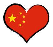 Heartland - China — Stock Photo