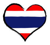 Heartland - Thailand — Stock Photo
