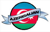 Circle Land AZERBAIJAN — Stock Photo