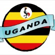 Circle Land Uganda — Stock Photo