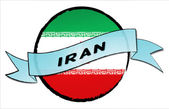 Circle Land IRAN — Stock Photo