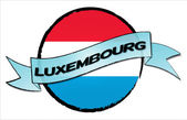 Circle Land LUXEMBOURG — Stock Photo