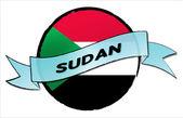Circle Land Sudan — Stock Photo