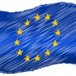 Flag - Europe — Stock Photo