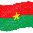 Sketch - Burkina Faso - Stock Photo