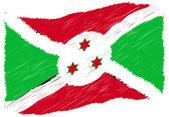 Sketch - Burundi — Stock Photo