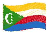 Sketch - Comoros — Стоковое фото