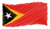 Skiss - Östtimor — Stockfoto
