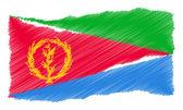 Sketch - Eritrea — Stock Photo