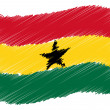 Sketch - Ghana — Stock Photo