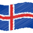 Sketch - Iceland - Stock Photo