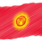 Постер, плакат: Sketch Kyrgyzstan