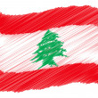 Sketch - Lebanon — Stock Photo