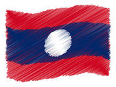 Sketch - Laos — Stock Photo