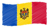 Sketch - Moldova — Stock Photo