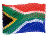 Sketch - South Africa — Stock Photo