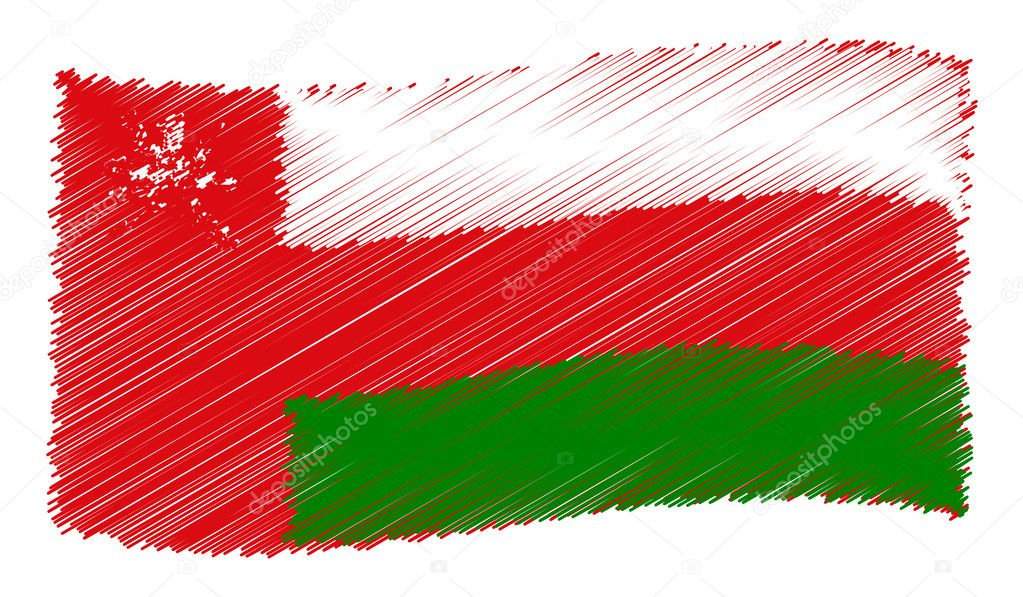Oman - The beloved country as a symbolic representation — Stock Photo #10662007