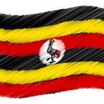 Sketch - Uganda — Stock Photo