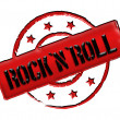 Stamp - Rock'n'Roll — Stock Photo