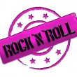 Stock Photo: Stamp - Rock'n'Roll