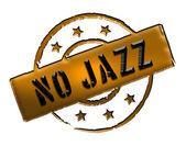 Stamp - No Jazz — Stock Photo