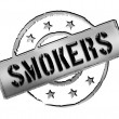 Stamp - Smoker - Stock Photo
