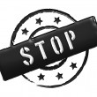 Stamp - STOP — Stock Photo