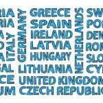 States of EU — Stock Photo