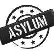 Stock Photo: Asylum - Black
