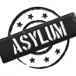 Asylum - Black — Stock Photo