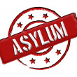 Asylum - Red — Stock Photo